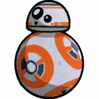 Star Wars Official BB-8 Force Awakens The Resistance Lucasfilm Iron On Patch