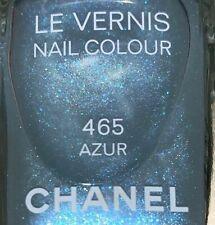 chanel nail polish 465 Azur rare limited edition 2008 Spring