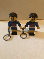 Vintage Lego Figure Keychains Lot
