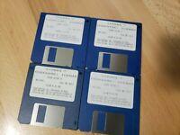 "Vtg 1989 Sierra Codename Iceman MS DOS PC Computer Game v1.033 3.5"" Disks Only"