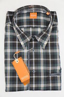 HUGO BOSS ORANGE HEMD Gr. M, Medium Green