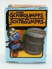 Figurine plastique Schtroumpfs (Les) Schtroumpf pompier + boite Schleich