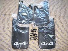 Toyota Tacoma Mud Flap Set Kit Complete ALL Genuine OEM w Bolts 4x4  2007-2014