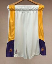 VINTAGE LOS ANGELES LAKERS NBA CHAMPION BASKETBALL SHORTS USA SIZE M JERSEY RARE