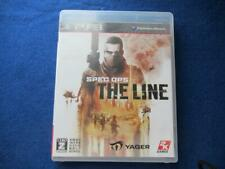 PS3 Spec Ops The Line 73235 Japanese ver from Japan