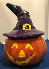 New Scentsy Bewitched Pumpkin Wax Warmer Full Size Halloween with Original Box