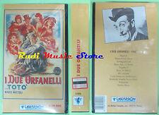 film VHS I DUE ORFANELLI Toto' SIGILLATA Mario Mattoli LASERVISION (F85) no dvd