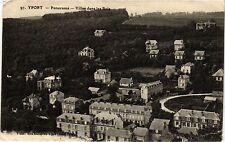 CPA Yport-Panorama, Villas dans les Bois (348530)