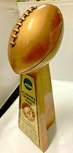 "15""  2020 ALABAMA CRIMSON TIDE NCAA NATIONAL CHAMPION FOOTBALL TROPHY"