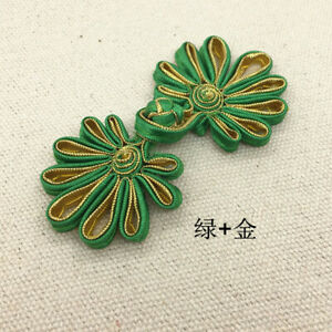Chinese Frog Handmade Craft Sewing Buttons Closures Knot Fasteners Diy Cheongsam