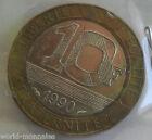10 francs Génie de la bastille 1990 : TTB : pièce de monnaie française