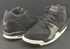 Nike Air Flight 89 Black White Grey 306252-024 Msrp $110 L9 R8