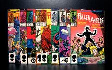 COMICS: Marvel: Fallen Angels #1-8 (1987), 1st Fallen Angels app - RARE
