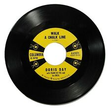 1957 Doris Day 'Walk A Chalk Line/Soft As The Starlight' Columbia 45 RPM NM