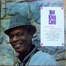 "NAT KING COLE ""LOVE IS A MANY SPLENDORED THING"". LP RECORD. 1966 (RM)(0102)."