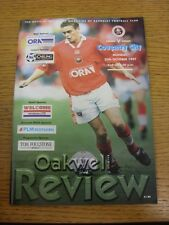 20/10/1997 Barnsley v Coventry City  . Thanks for viewing this item, buy with co