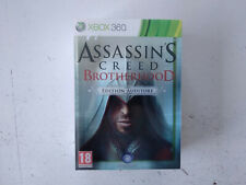 Collector Assassin's Creed BrotherHood edition Auditore Xbox 360 FRancais
