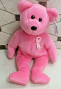 Ty Beanie Baby Aware the Bear DOB October 10, 2004 MWMT Free Shipping