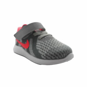 Nike Toddler Girl's Free RN 2018 Athletic Shoes Gray Pink Size 4C