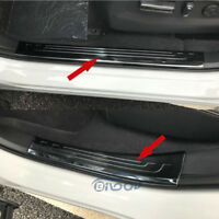 Fit Honda New CRV CR-V 2017 2018 Steel Door Sill Scuff Plate Cover Trim Black