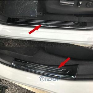 Fit Honda New CRV CR-V 2017 2018 2019 Steel Door Sill Scuff Plate Cover Trim