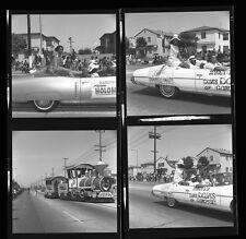 1970s Photo Negatives Watts summer festival parade Los Angeles CA Car