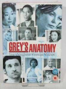 Grey's Anatomy - Series 2 - Complete (DVD, 2007, 6-Disc Set) Boxset - New Sealed