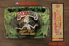 Funny Cartoon Rolling Tray Bong RAW Style Cigarette Rolling papers + FREE GIFT!