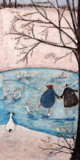 Sam Toft (Winter)  Canvas Print Canvas Wall Art Print WDC93137   50 x 100cm