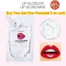 Non-stick Clear Lip Gloss Base Lipstick Lip Gloss Base Gel Material Transparent