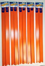 "Hot Wheels New 20 Straight Track Pieces, 24"" Long, W/ Connectors FAST SHIPPING"