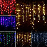 11.5ft Icicle Snowing String Fairy Lights Curtain Xmas Light Tree Wedding Party