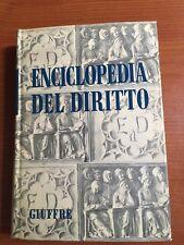 1973 - ENCICLOPEDIA DEL DIRITTO - VOL. XXV  Lodo- Matr - GIUFFRE' EDITORE