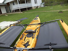Kayak  Side Trampoline  - Black  for 2014 & earlier Adventure Island kayaks
