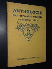 ANTHOLOGIE DES ÉCRIVAINS SUÉDOIS CONTEMPORAINS - T. Hammar