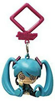 Vocaloid 2'' Hatsune Miku Crying Hanger Figure Bag Clip Key Chain NEW