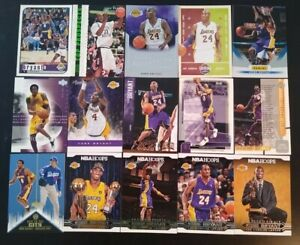 Kobe Bryant huge mixed basketball card lot (29) Los Angeles Lakers