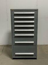 Used Stanley Vidmar 8 drawer modular cabinet industrial tool parts storage #2282