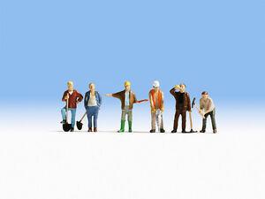 Noch 45110 Tt Gauge, Construction Worker # New Original Packaging ##