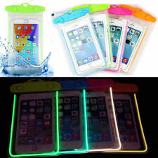 20m Underwater Waterproof Case Fluorescent Cover Bag Dry Pouch For Mobile Phone