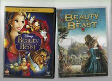 Beauty and the Beast  2 DVDs  Disney (animation) & Christoper Gans (live action)