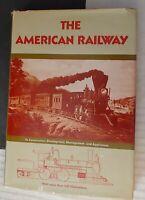**VINTAGE 1976 AMERICAN RAILWAY CONSTRUCTION DEVELOPMENT HC/DJ BOOK**ILLUSTRATED