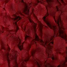500 Silk Wine Rose Petals Wedding Party Decoration Flower Vase Floral Confetti