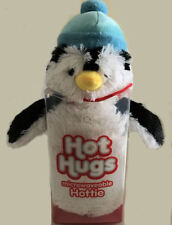 Aroma Home Hot Hugs Penguin Microwaveable Hottie Lavender Plush Soft Animal New