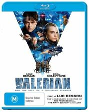 Valerian And The City Of A Thousand Planets (Blu-ray, 2017)