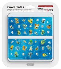 NEW Nintendo 3DS Cover Plates Kisekae plate No.063 Pokemon Pikachu Japan F/S