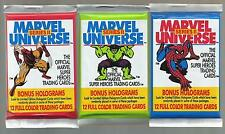 1991 MARVEL UNIVERSE SERIES 2 (ONE UNOPENED PACK 12 CARDS) HULK-SPIDERMAN