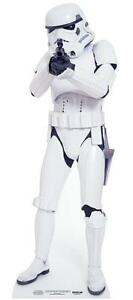 STORMTROOPER FROM STAR WARS MINI CARDBOARD CUTOUT/STAND UP - FUN SIZE FOR FANS