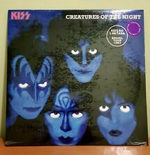 Kiss-creatures of the night Brazil 1983 Lp Vinyl New Limtd Edition Color PURPLE