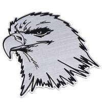 Adler 3D Aufkleber Sticker Auto Motorrad Tuning Adlerkopf Emblem Chrom Eagle